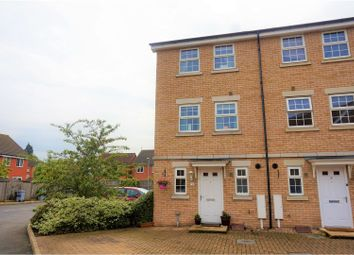 Thumbnail 4 bed end terrace house for sale in Bradley Drive, Grantham