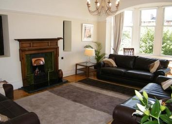 Thumbnail 3 bed flat to rent in 40 Queensborough Gardens, Glasgow