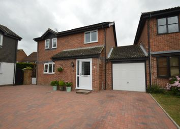 Thumbnail 3 bed link-detached house for sale in Peacock Close, Ipswich