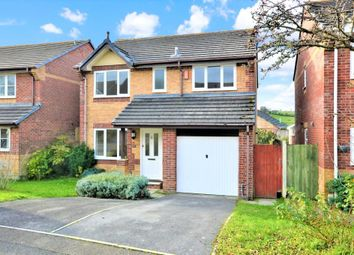 Thumbnail 4 bedroom detached house for sale in Ashburgh Parc, Latchbrook, Saltash, Cornwall