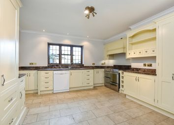 Thumbnail 4 bed detached house to rent in Oakwood, Dippenhall Road, Dippenhall, Farnham, Hampshire