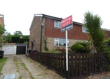 Thumbnail 2 bed semi-detached house to rent in Forest Dene, Crowborough
