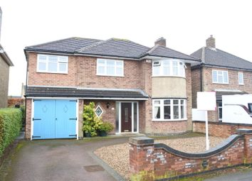 Thumbnail 4 bed detached house for sale in Oxford Drive, Melton Mowbray