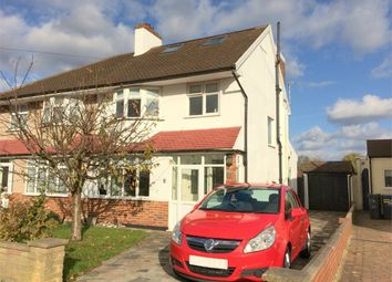 Thumbnail 4 bed end terrace house for sale in Rhodrons Avenue, Chessington