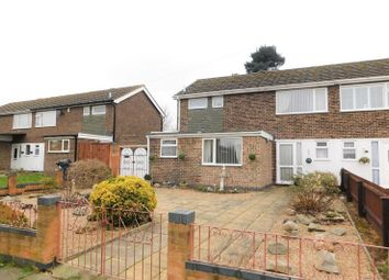 Thumbnail 4 bed semi-detached house for sale in Stirling Avenue, Loughborough