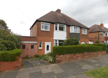 Thumbnail 3 bed semi-detached house for sale in Bradstock Road, Kings Norton, Birmingham