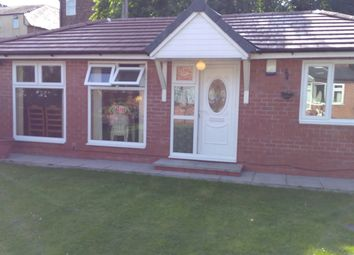 Thumbnail 1 bed bungalow to rent in Wellington Road, Manchester