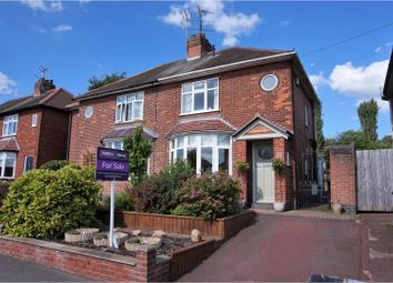 Thumbnail 2 bed semi-detached house for sale in West Bank Road, Derby