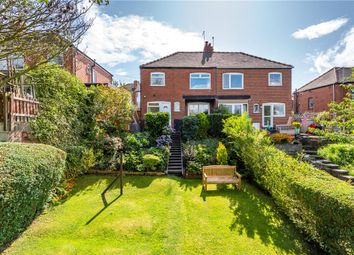 Thumbnail 3 bed semi-detached house for sale in Gledhow Park Grove, Leeds, West Yorkshire