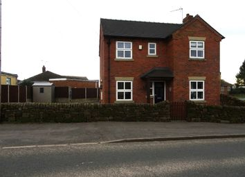 Thumbnail 3 bed detached house to rent in Cheadle Road, Forsbrook