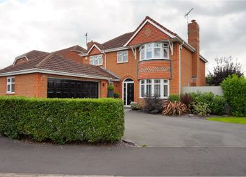 Thumbnail 4 bedroom detached house for sale in Sharpe Way, Leicester
