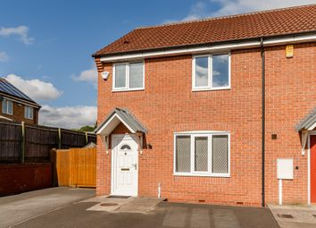 Thumbnail 3 bed end terrace house for sale in Watermint Close, Littleover, Derby, Derbyshire