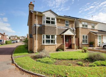 Thumbnail 3 bed detached house for sale in Penwood Gardens, Bracknell