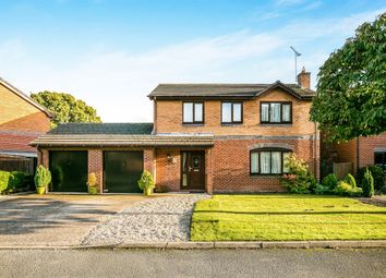Thumbnail 4 bedroom detached house for sale in Greenfield View, Cross Lanes, Wrexham