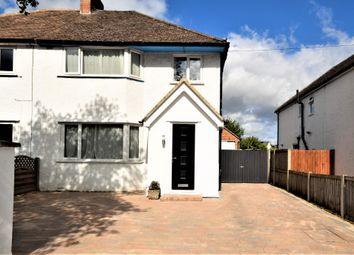 Thumbnail 3 bed semi-detached house for sale in Hatherley Road, Hatherley, Cheltenham