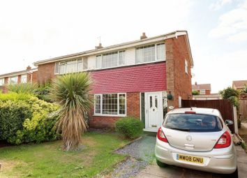 Thumbnail 3 bed semi-detached house for sale in St. Davids Crescent, Bottesford, Scunthorpe