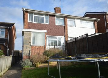Thumbnail 3 bed semi-detached house for sale in Amhirst Close, Norwich
