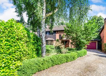 Thumbnail 4 bed detached house for sale in Bossington Close, Rownhams, Southampton