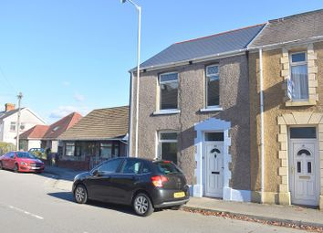 Thumbnail 2 bed end terrace house for sale in Vicarage Road, Morriston, Swansea.