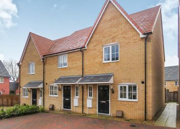 Thumbnail 2 bed end terrace house for sale in Hodson Court, Sawtry, Huntingdon