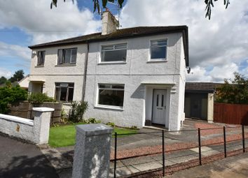 Thumbnail 3 bed semi-detached house for sale in 15 Netherbog Road, Dumbarton