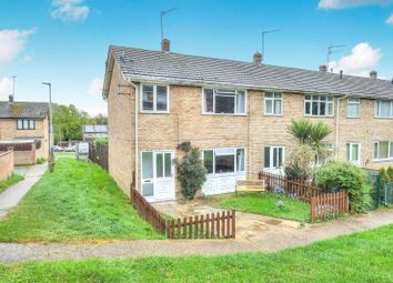 Thumbnail 3 bed end terrace house for sale in Leewood Crescent, Norwich