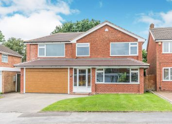Thumbnail 6 bed detached house to rent in Fowgay Drive, Shirley, Solihull
