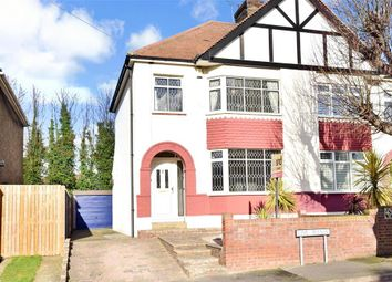 Thumbnail 3 bed semi-detached house for sale in Lime Avenue, Northfleet, Gravesend, Kent