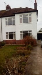 Thumbnail 3 bed semi-detached house for sale in Port Road East, Barry
