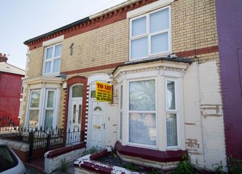 Thumbnail 5 bed terraced house for sale in Webster Road, Liverpool