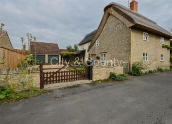 Thumbnail 3 bed detached house for sale in School Lane, Maxey, Peterborough