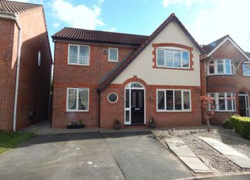 Thumbnail 4 bed detached house for sale in Allington Close, Walton Le Dale, Preston