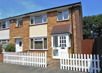 Thumbnail 3 bed end terrace house to rent in Godman Road, Chadwell St Mary, Essex
