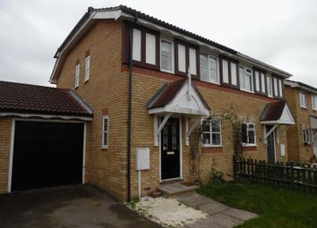 Thumbnail 2 bed semi-detached house to rent in Chelmsford Close, Belmont, Sutton