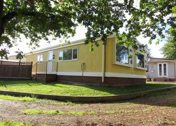 Thumbnail 3 bed mobile/park home to rent in Bridge Lane, Weston-On-Trent, Derby