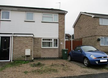 Thumbnail 3 bed semi-detached house for sale in Clayton Drive, Thurmaston, Leicester