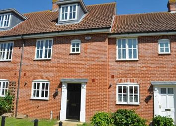 Thumbnail 3 bed town house to rent in Curtis Way, Kesgrave, Suffolk