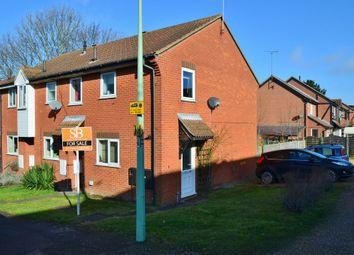 Thumbnail 2 bed end terrace house for sale in Rendlesham Road, Felixstowe