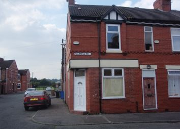 Thumbnail 2 bed end terrace house to rent in Valencia Rd, Salford
