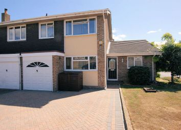 Thumbnail 4 bed semi-detached house for sale in Hayling Close, Fareham