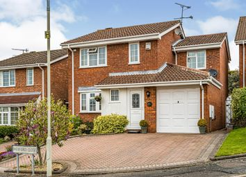 Thumbnail 4 bed detached house for sale in Wexford Close, Dudley