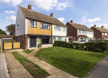 Thumbnail 3 bed semi-detached house for sale in Whitegates Avenue, West Kingsdown, Sevenoaks