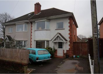 Thumbnail 3 bed semi-detached house for sale in Horsham Avenue, Bournemouth