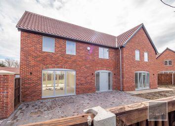 Thumbnail 4 bed detached house for sale in Cuttons Corner, Hemblington, Norwich