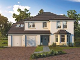 Thumbnail 5 bedroom detached house for sale in The Sanderson, Kenneth Place, Dunfermline