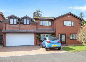 Thumbnail 5 bed detached house for sale in Llanforda Mead, Oswestry