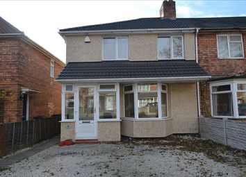 Thumbnail 3 bed end terrace house to rent in Hornsey Grove, Kingstanding, Birmingham