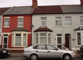 Thumbnail 2 bed terraced house to rent in Forrest Road, Canton, Cardiff