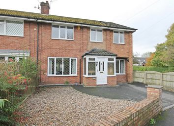 Thumbnail 4 bed semi-detached house for sale in Glenton, Ferry Lane, Thelwall