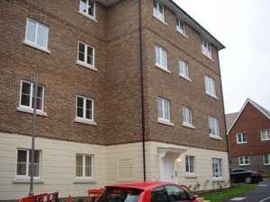 Thumbnail 2 bedroom flat to rent in Trident Court, Baker Crescent, Dartford